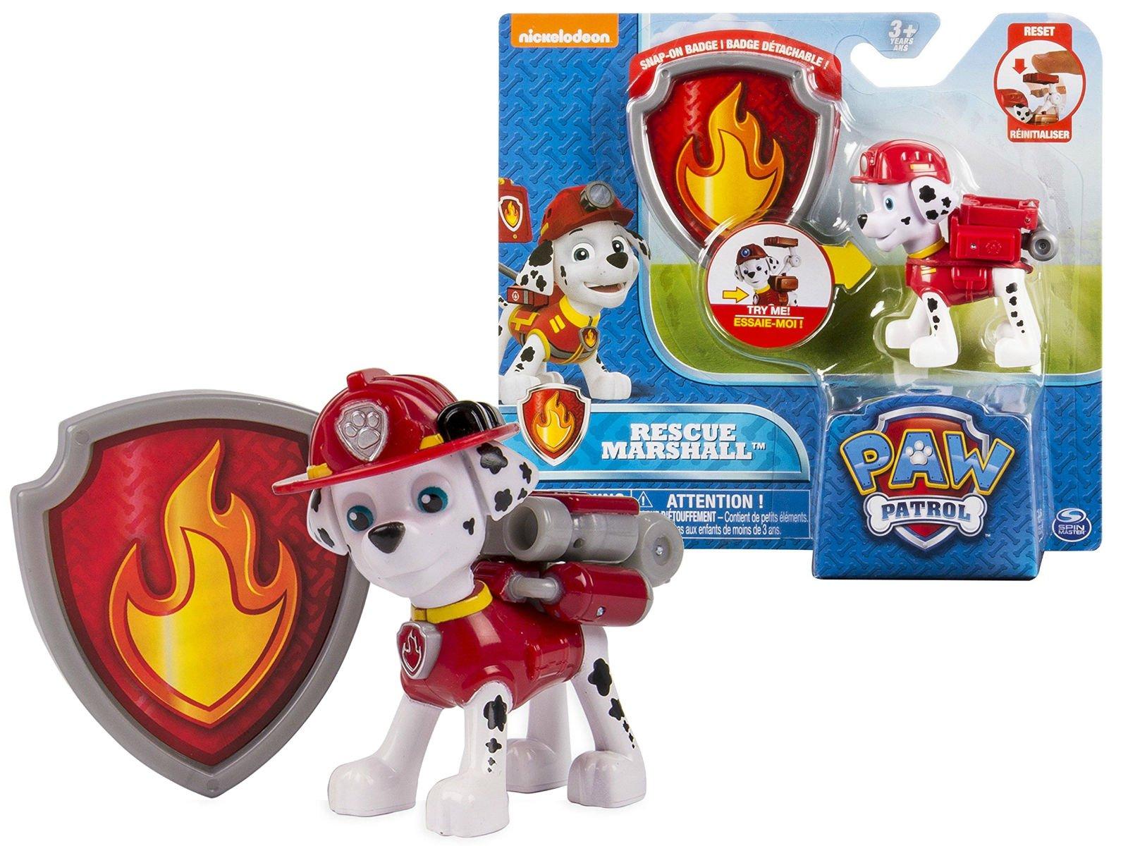 Spin Master Psi Patrol Figurka Akcji Z Odznaką Marshall
