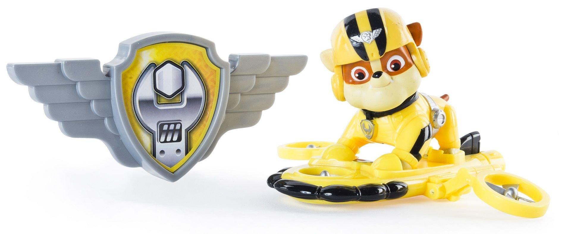 Spin Master Psi Patrol Powietrzny Patrol Figurka Akcji Z Odznaką Rubble