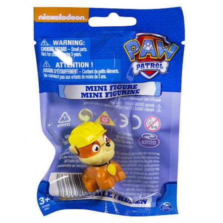 Paw Patrol Psi Patrol Figurka Rubble Mini 4,5 cm