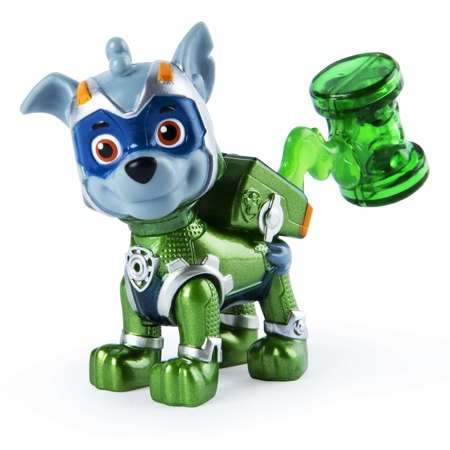 Psi Patrol Mighty Pups Rocky figurka Mighty Pups Kosmopieski