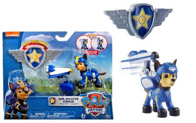 Spin Master Psi Patrol Powietrzny Patrol Figurka Akcji Z Odznaką Chase