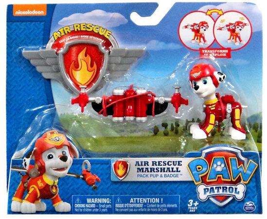 Spin Master Psi Patrol Powietrzny Patrol Figurka Akcji Z Odznaką Marshall