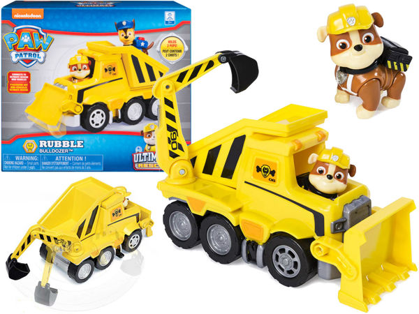 Spin Master 20106074 Psi Patrol Ultimate Rescue Spycharka Rubble'a