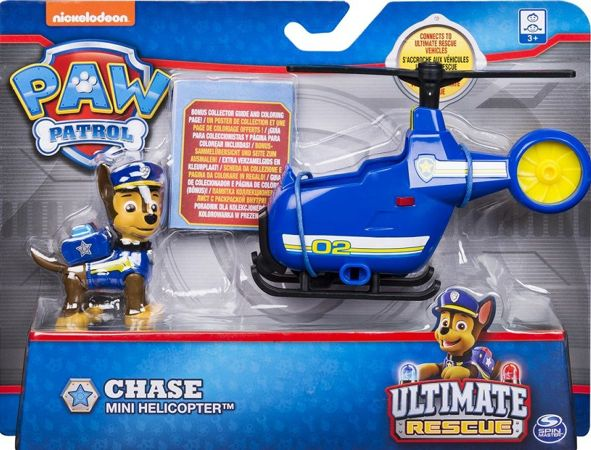 Spin Master Psi Patrol Ultimate Rescue Mini Helicopter Chase'a