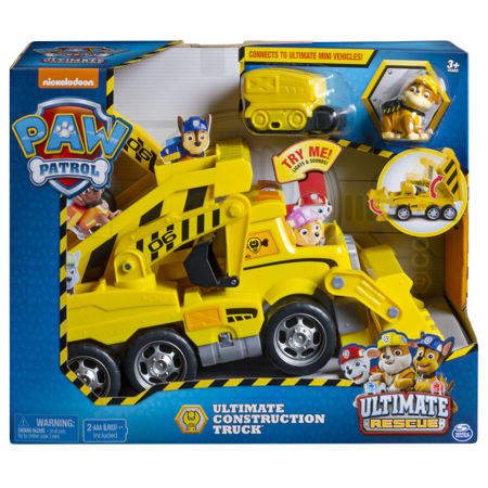 Spin Psi Patrol Ultimate Rescue Construction Truck